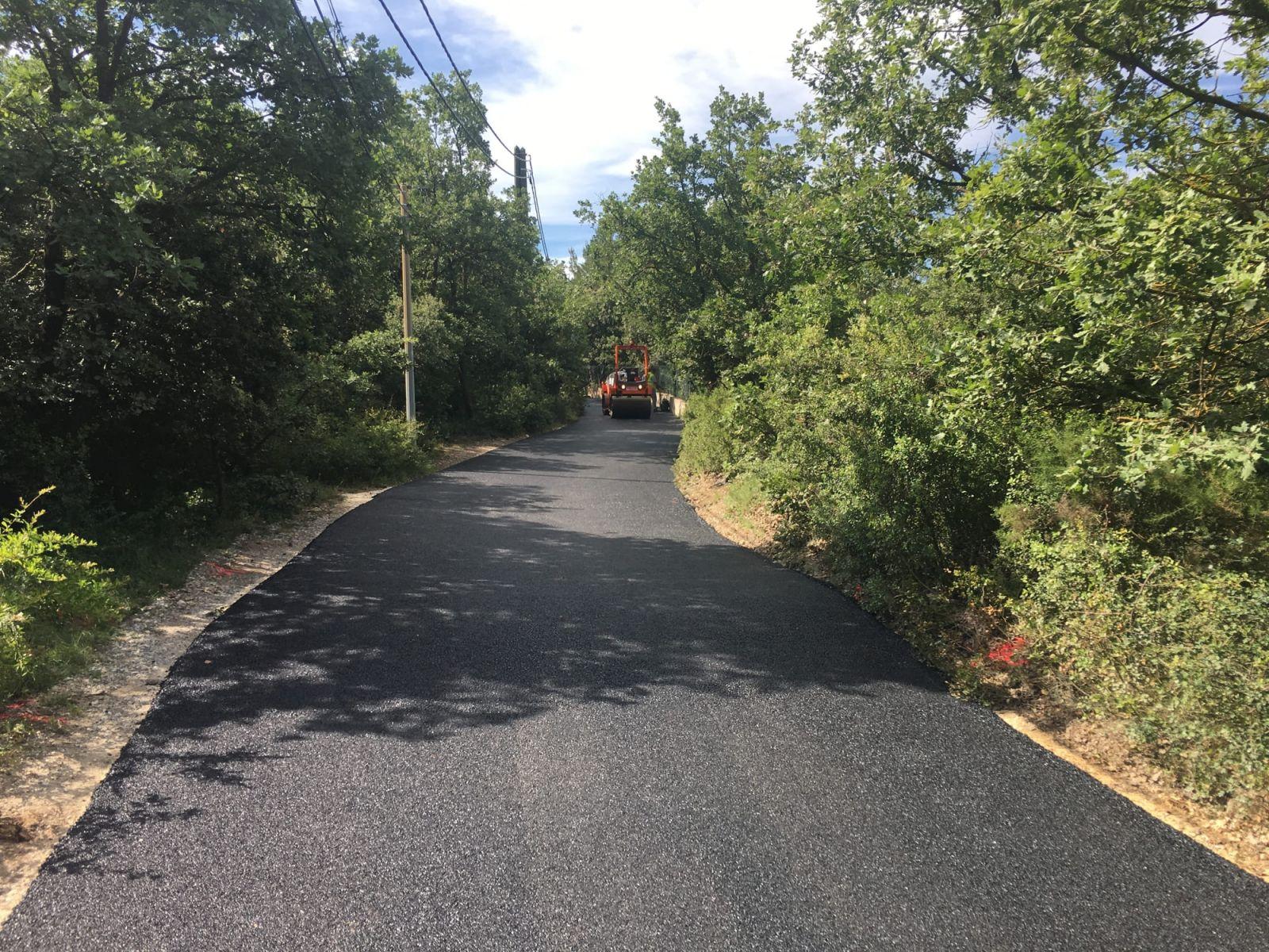Prix Geotextile Pour Chemin D Accès réfection d'un chemin d'accès en enrobé sur la commune de