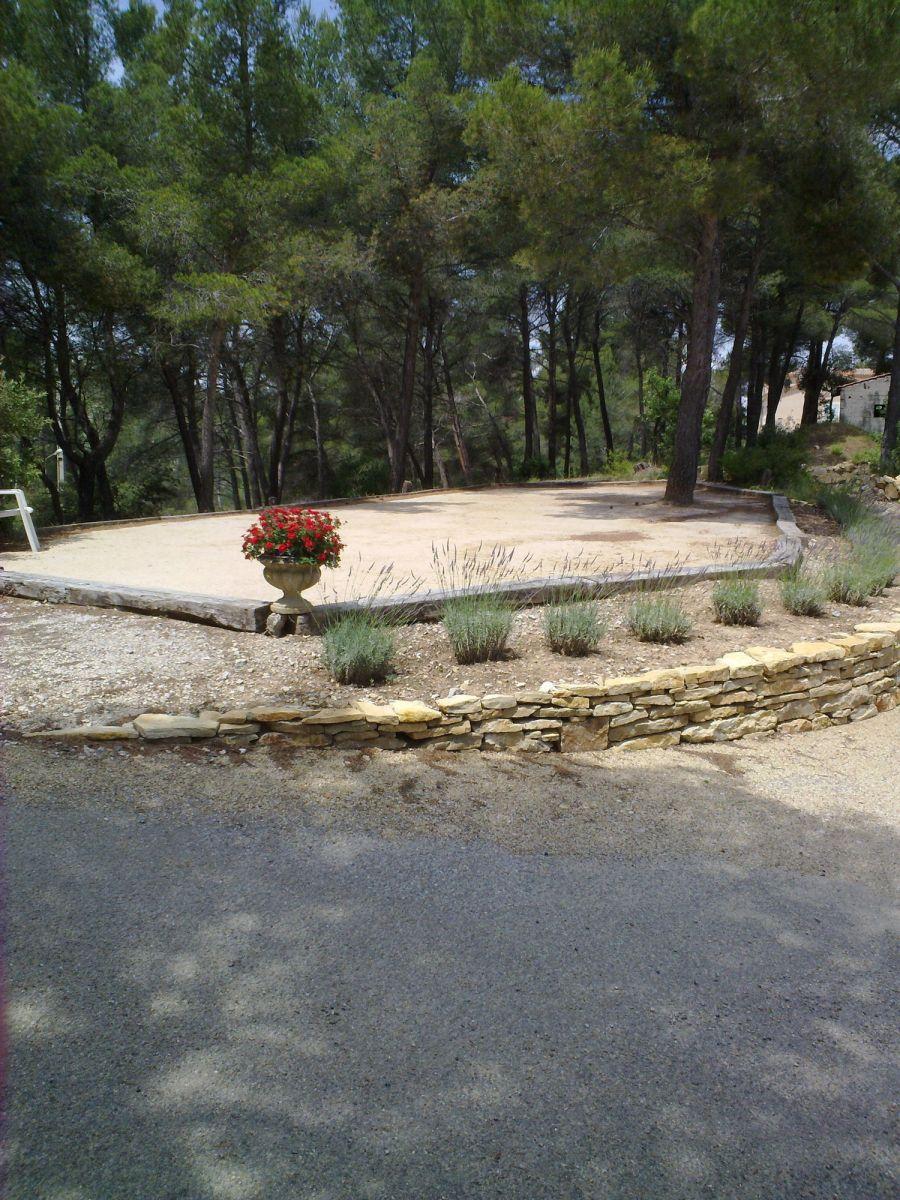 Dimension Terrain De Petanque Maison réalisation d'un terrain de pétanque en sable stabilisé